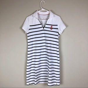 Tommy Hilfiger Striped Polo Nautical Dress